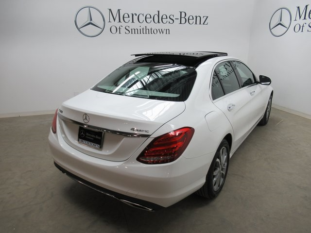 Certified pre owned 2015 mercedes benz c class c 300 sedan for Mercedes benz smithtown service