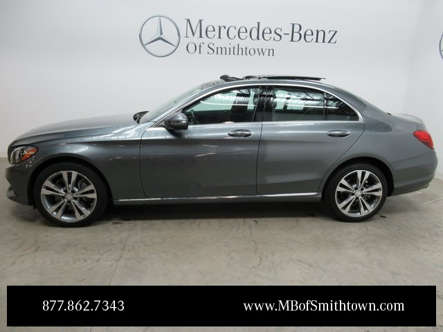 Pre owned 2017 mercedes benz c class c 300 4d sedan in st for Mercedes benz college graduate program