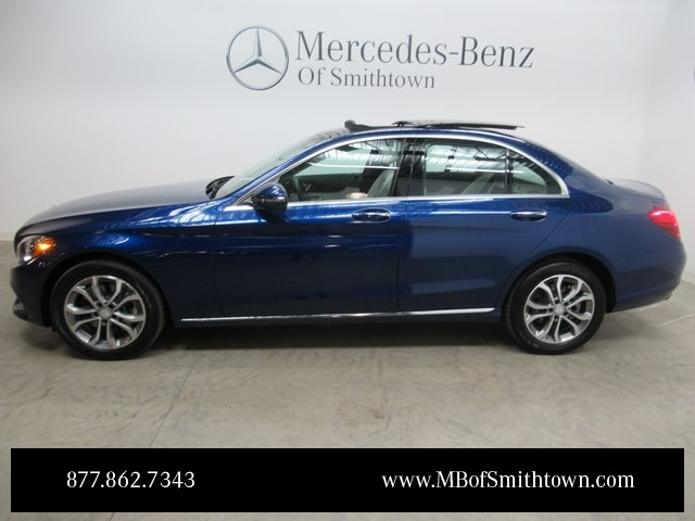 Certified pre owned 2017 mercedes benz c class c 300 4d Mercedes benz certified pre owned lease