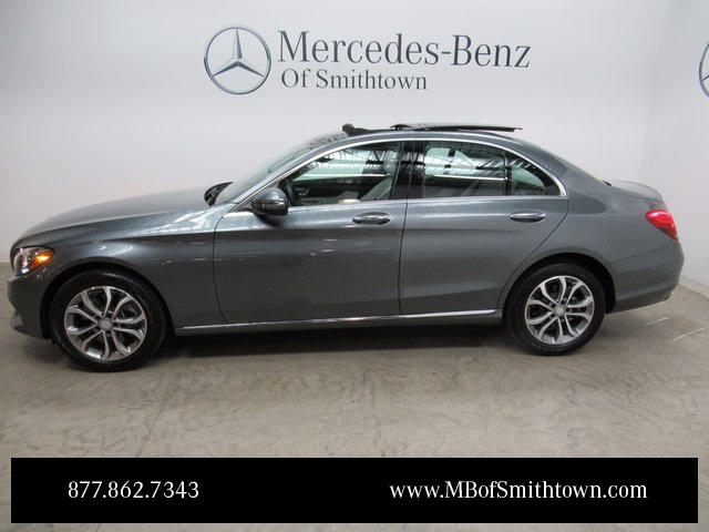 Pre owned 2017 mercedes benz c class c 300 sedan in st for Mercedes benz loyalty program