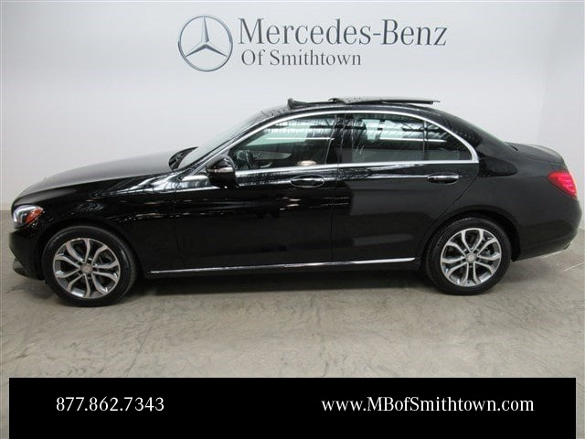 Certified pre owned 2015 mercedes benz c class c 300 4d for Mercedes benz extended limited warranty price