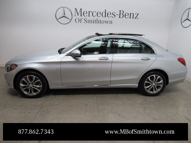 Pre owned 2017 mercedes benz c class c 300 sedan in st for Mercedes benz smithtown service