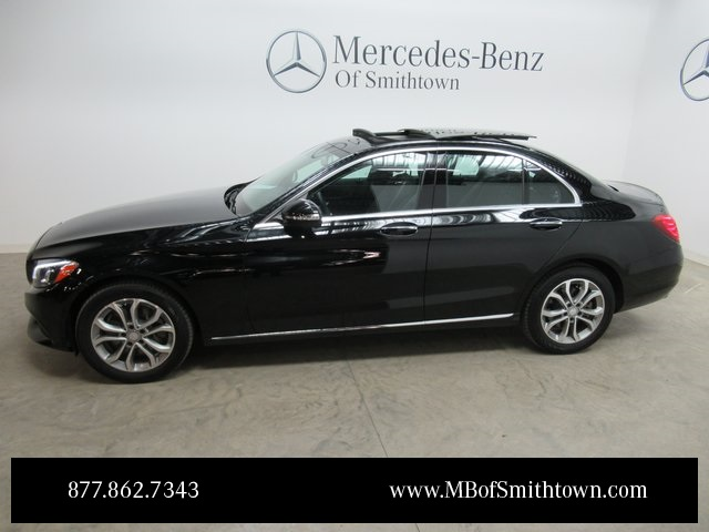 Certified pre owned 2015 mercedes benz c class c 300 sedan for Mercedes benz certified pre owned financing