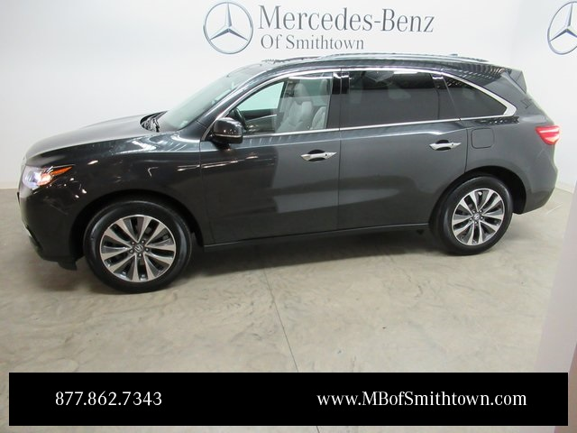 pre owned 2016 acura mdx 3 5l 4d sport utility in st james u16527