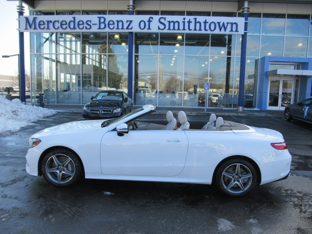 New 2018 mercedes benz e class e 400 sport cabriolet in st for Mercedes benz smithtown service