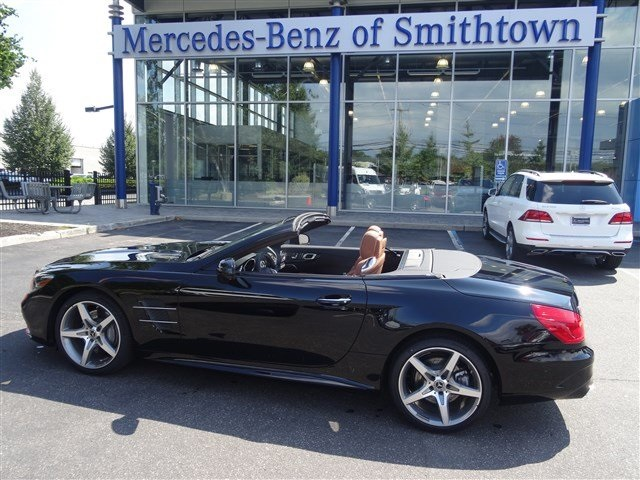 New 2018 mercedes benz sl sl 550 roadster in st james for Mercedes benz smithtown service
