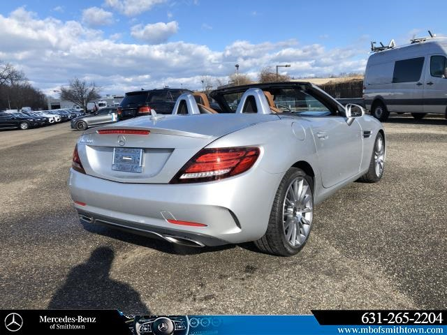 Certified Pre-Owned 2017 Mercedes-Benz SLC SLC 300 Sport