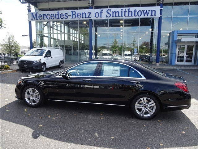 New 2018 mercedes benz s class s 450 sedan in st james for Mercedes benz smithtown service