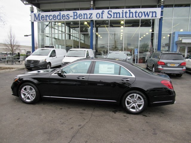 New 2018 mercedes benz s class s 560 sedan in st james for Mercedes benz smithtown service