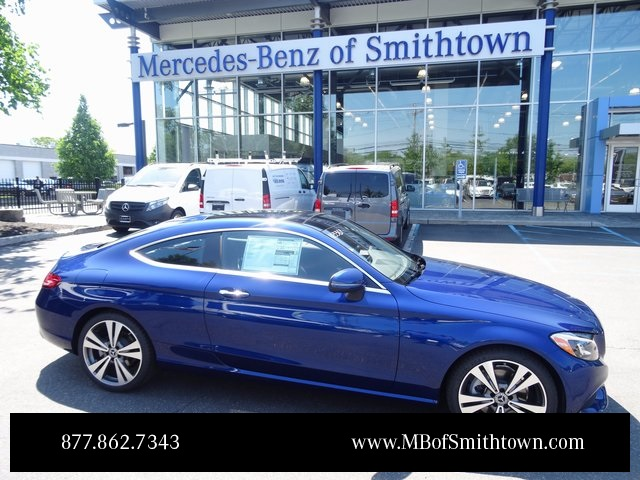 New 2017 mercedes benz c class c 300 coupe in st james for Mercedes benz smithtown service